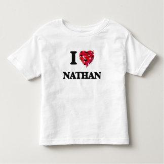 I Love Nathan Tee Shirts