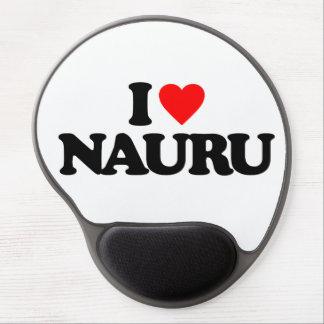 I LOVE NAURU GEL MOUSE PAD