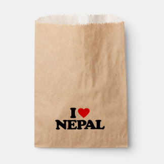 I LOVE NEPAL FAVOUR BAGS
