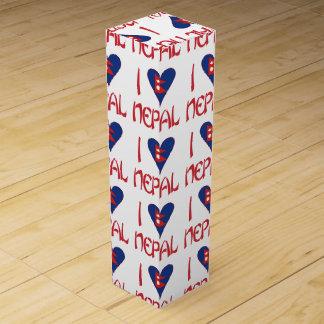 I Love Nepal Wine Gift Box