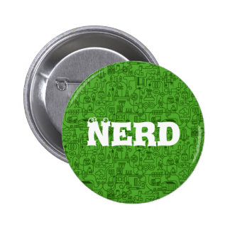 I Love Nerds Science Button