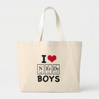 I LOVE NERDY BOYS BAGS
