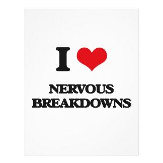 I Love Nervous Breakdowns Personalized Flyer