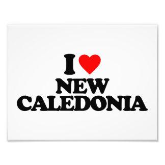 I LOVE NEW CALEDONIA PHOTOGRAPHIC PRINT