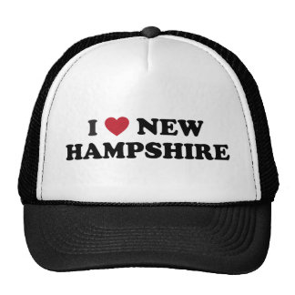 I Love New Hampshire Hat