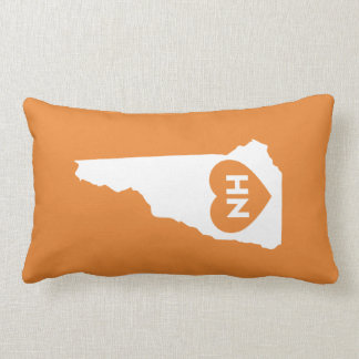 "I Love New Hampshire State Lumbar Pillow 13"" x 21"""