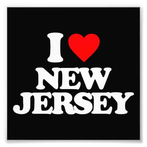 I LOVE NEW JERSEY PHOTOGRAPHIC PRINT