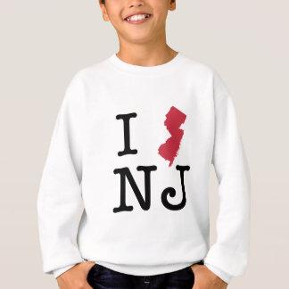I Love New Jersey Sweatshirt