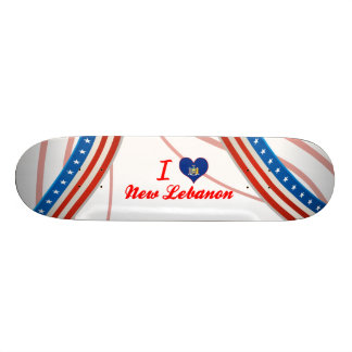 I Love New Lebanon, New York Skateboard