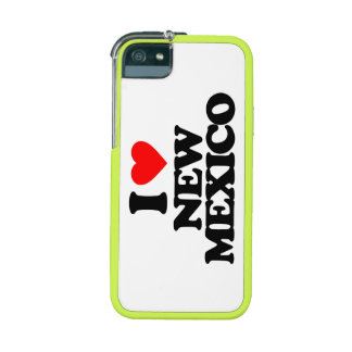I LOVE NEW MEXICO iPhone 5/5S COVERS