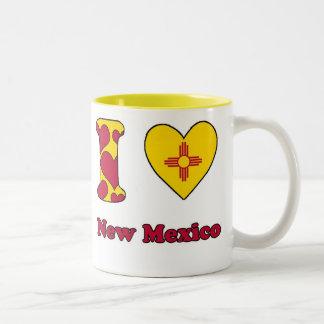 I love New Mexico Two-Tone Coffee Mug