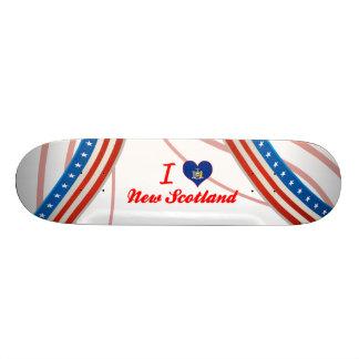 I Love New Scotland, New York Skateboard Deck