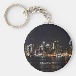 I Love New York, Bright Lights, City Lights Key Ring