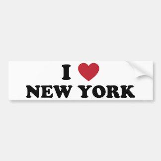 I Love New York Bumper Sticker