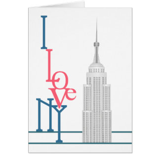 I Love New York Card