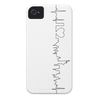 I love New York in a extraordinary style Case-Mate iPhone 4 Case