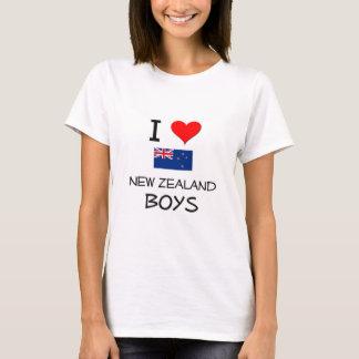 I Love New Zealand Boys T-Shirt