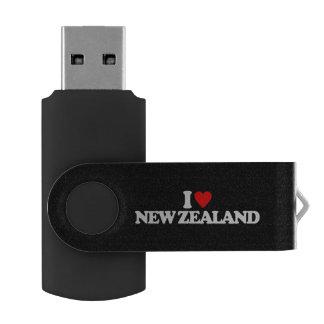 I LOVE NEW ZEALAND USB FLASH DRIVE