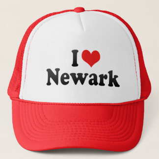 I Love Newark Trucker Hat