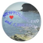 I LOVE NEWFOUNDLAND AND LABRADOR PLATE