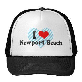 I Love Newport Beach, United States Cap