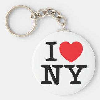 """I Love Newyork 2.25"""" Basic Button Keychain"""