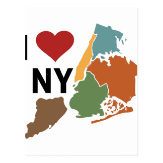 I Love Newyork Postcard