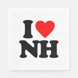 I LOVE NH DISPOSABLE SERVIETTE