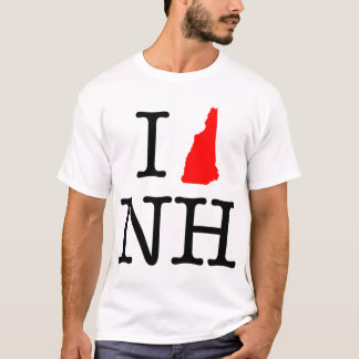 I Love NH New Hampshire T-Shirt