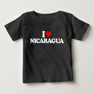 I LOVE NICARAGUA BABY T-Shirt