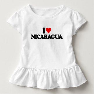 I LOVE NICARAGUA TODDLER T-Shirt