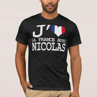 I love Nicolas - presidential Election T-Shirt