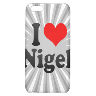 I love Nigel Cover For iPhone 5C