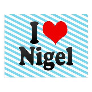 I love Nigel Postcards