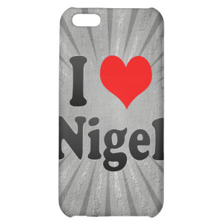 I Love Nigel, South Africa iPhone 5C Case
