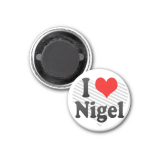 I Love Nigel, South Africa Fridge Magnets