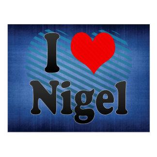 I Love Nigel, South Africa Post Card