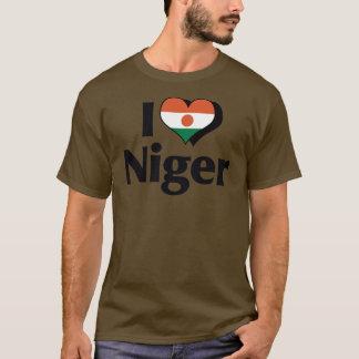I Love Niger Flag Shirt