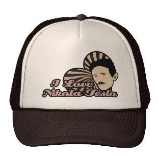 I Love Nikola Tesla Hats