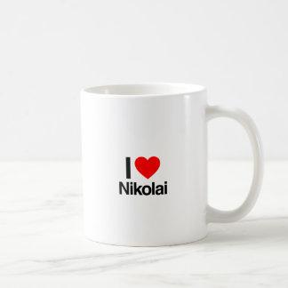 i love nikolai coffee mug