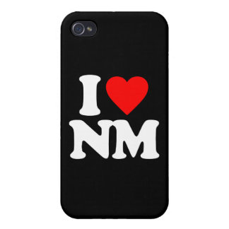 I LOVE NM CASE FOR iPhone 4