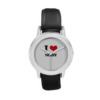 I Love Noisy Wristwatch