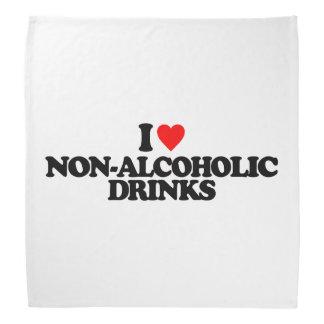 I LOVE NON-ALCOHOLIC DRINKS BANDANA