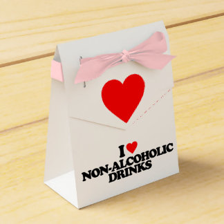 I LOVE NON-ALCOHOLIC DRINKS PARTY FAVOR BOXES