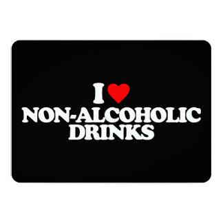 I LOVE NON-ALCOHOLIC DRINKS INVITATION