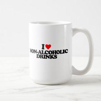 I LOVE NON-ALCOHOLIC DRINKS COFFEE MUG