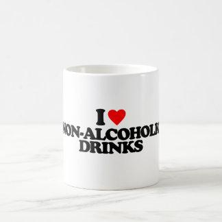 I LOVE NON-ALCOHOLIC DRINKS MUGS