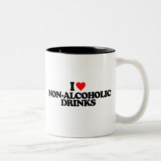 I LOVE NON-ALCOHOLIC DRINKS MUG