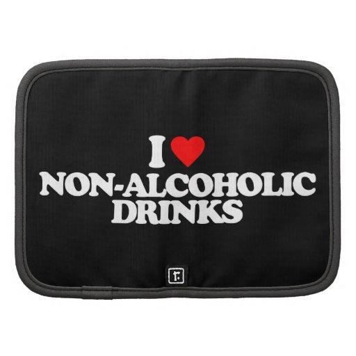 I LOVE NON-ALCOHOLIC DRINKS FOLIO PLANNER