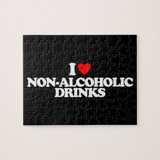 I LOVE NON-ALCOHOLIC DRINKS JIGSAW PUZZLES
